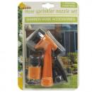 Garden hose shower  set, 2-piece, blister,