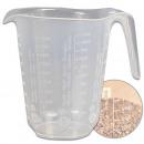 Measuring cup, 1 liter, d = 13 cm, height = 16 cm,