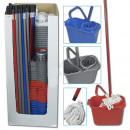 wholesale Cleaning: Cleaning Kit 4-pc.  the display: 12 L pail square,