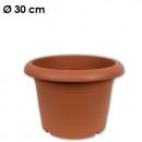 wholesale Plants & Pots: Plant pot  cylinder, d = 30 cm, terracotta