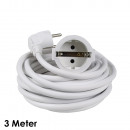 wholesale Electrical Installation: Extension cable 3 m, white