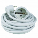 wholesale Electrical Installation: Extension cable 10 feet, White