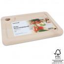 wholesale Houshold & Kitchen: Wood cutting  board, 1.6 x 25 x 19 cm,