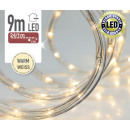 groothandel Lichtketting: LED licht slang 9 m, Warm Wit,