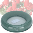 groothandel Tuin & Doe het zelf: Steekschuim,  groen, ring, d = 25 cm,