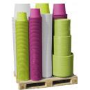 mayorista Plantas y macetas: Cilindro Planter  Mixpalette, 360 piezas, de color