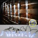 mayorista Casa y decoración: Navidad Luces LED  Eiszapfenkette, 40 LED, blanco,