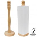 Kitchen roll holder, d = 10,5 cm, height = 32 cm,