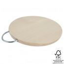 grossiste Ustensiles de Cuisine: Bois planche à  découper, d = 25cm, largeur 28cm =