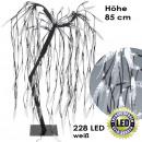 groothandel Accu's, kabels & adapters: Treurwilg, 228  LED, wit, hoogte root = 85 cm,