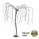 Weeping willow,  240 LED, white, height root = 100
