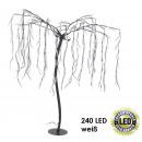 Trauerweide, 240  LED, Weiss, Höhe Stamm = 100 cm,