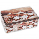wholesale Houshold & Kitchen: Candy Jar cinnamon, Rectangle