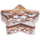 wholesale Houshold & Kitchen: Candy Jar  cinnamon, star shape,