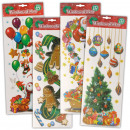 Stickers / Window  Mural Christmas, 15 x 42 cm,