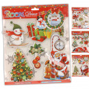 Decals / stickers  3D, Christmas, 30 x 42 cm