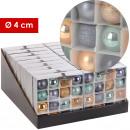 Baubles MERIDA, plastic, d = 4 cm,