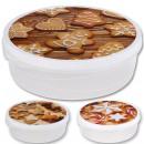 wholesale Houshold & Kitchen: Cookie jar round,  d = 28 cm, height = 9 cm,