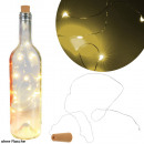 groothandel Huishouden & Keuken: Fles stoppen met  LED-verlichting, incl. Batt.,