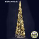 mayorista Otro: Pyramid, 60 LED,  90 cm, blanco caliente,