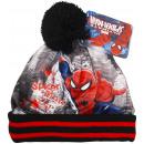 Spiderman, czapka zimowa dla chłopca.