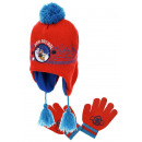 wholesale Scarves, Hats & Gloves: Set cap and gloves for a boy red Ps