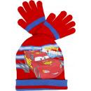 nagyker Sapkák, sálak és kesztyűk: Cars, kalap és kesztyű a fiút.
