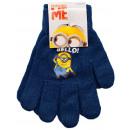 Packung mit 4 Stück. Minions - Kinderhandschuhe