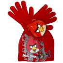 nagyker Sapkák, sálak és kesztyűk: Hat és kesztyű fiú Angry Birds.