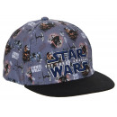 wholesale Scarves, Hats & Gloves: Gray cap with a print Star Wars