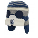 Winter baby hat with application Mickey M