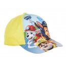 mayorista Bufandas, gorros & guantes: Gorra de béisbol amarilla para niño Paw Patrol