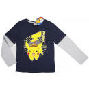 Pokemon, blouses with long sleeves for boys.