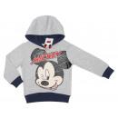 Mickey mouse con cappuccio, da un ragazzo.