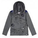 wholesale Licensed Products: Gray hooded blouse for boys Spider-Man Mar