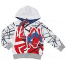 Spiderman, felpa con cappuccio per un ragazzo.