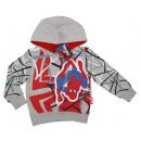 Spider-Mann felpa con cappuccio.