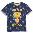 wholesale Childrens & Baby Clothing: Navy blue t-shirt Fireman Sam for a boy