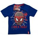 Großhandel Kinder- und Babybekleidung: T-Shirt für Junge Spider-Man.