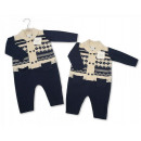 Sleepsuit for a boy from Nurser cotton yarn