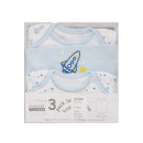 wholesale Erotic Clothing: Nursery, Body 3-pack. 100% coton.