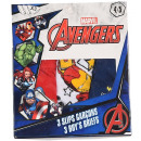 mayorista Ropa interior: Marvel pack de 3 calzoncillos para niño Avengers