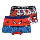 mayorista Bañadores: Spider-Man Marvel paquete de 2 bóxers