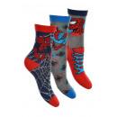 Großhandel Socken & Strumpfhosen: Socken Marvel Spiderman - 3 Stück für Jungen