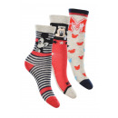 wholesale Socks and tights: Mickey Mouse 3 pack socks.