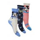 Großhandel Socken & Strumpfhosen: Socken Mickey Mouse - 3 - Pack.