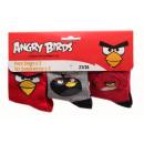mayorista Calcetines y Medias: Angry Birds, 3-pack calcetines chicos 31/34
