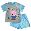 mayorista Pijamas: piyama verano para el chico George Peppa Pig