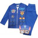 wholesale Licensed Products: pyjamas boyish Paw Patrol Blue chase with mask
