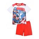 hurtownia Produkty licencyjne: Letnia piżama chłopięca Avengers Marvel Kapitan Am